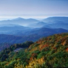 Running the Blue Ridge Mountains