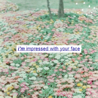 ❀ i'm impressed with your face ❀