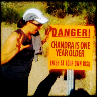 Happy Birthday, Chandra!