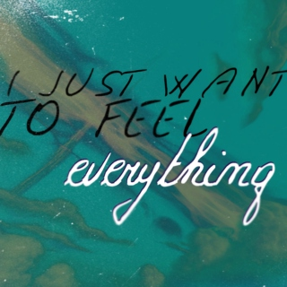 I Just Want to Feel Everything...