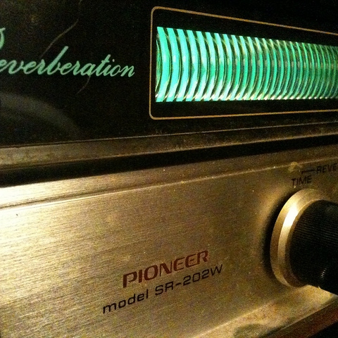 """spring reverb in your ear - 44'41"""""""