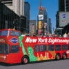 NYC musical tour bus
