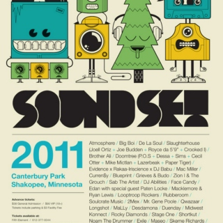 Mixes & Mashes of Soundset 2011 Headliners