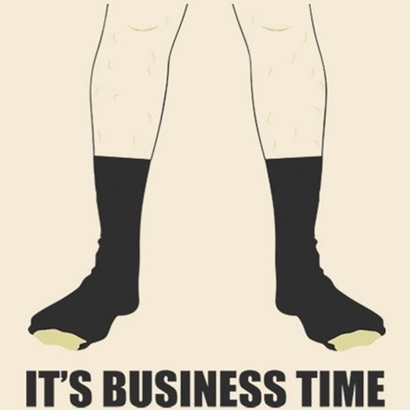 It's Business Time