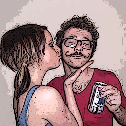 Here's to Pabst Blue Ribbon! (Helping hipsters get laid since 1998)