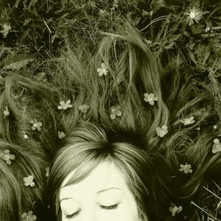Fell asleep beneath the flowers, for a couple of hours