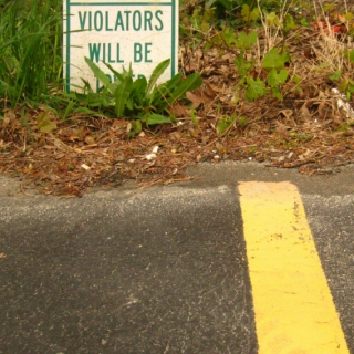 Violators will be.