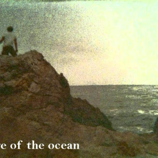 edge of the ocean