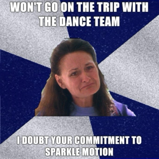 Most People Just Can't Commit To Sparkle Motion