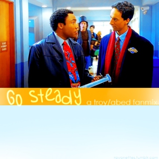 go steady - a troy/abed fanmix