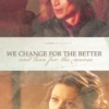 We Change For the Better (And Love For the Worse)