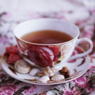The weather is cold and I want a  cup of tea and blankets and blissfulness.