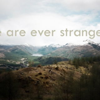 We Are Ever Strangers