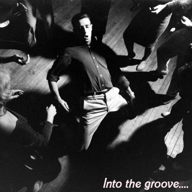 Into the groove...