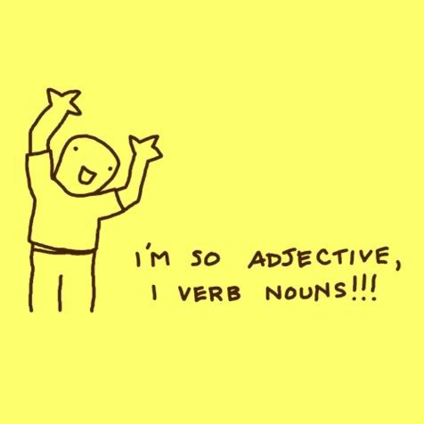 adjective what?