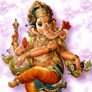 "Ganesha Says ""Feel Better"""