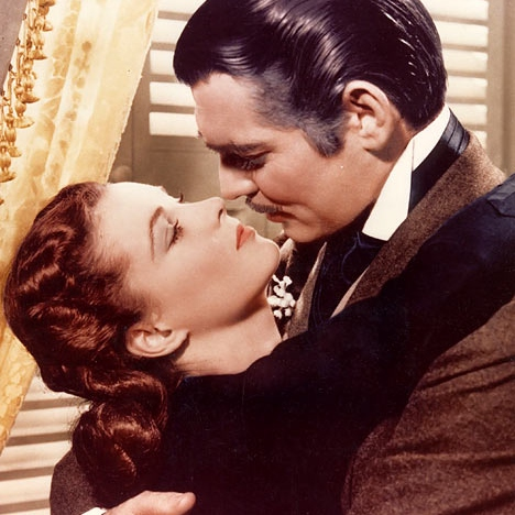 I kissed you in a style Clark Gable would admire.