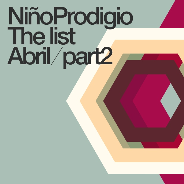 NIÑO PRODIGIO the List Abril part2