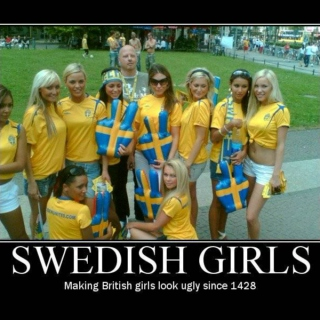 to all the Swedish ladies