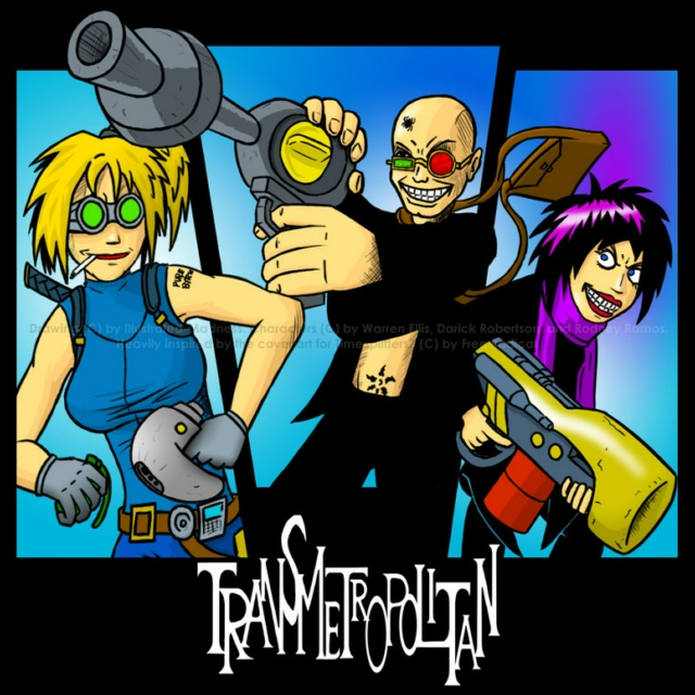 Sounds from the Transmetropolitan: Book 1