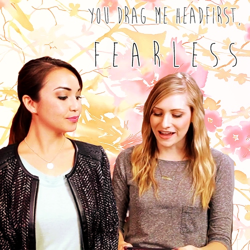 you drag me headfirst, fearless