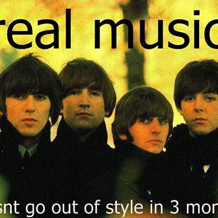 Real music from great artists.