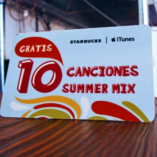 Starbucks MX 10 Canciones Summer Mix