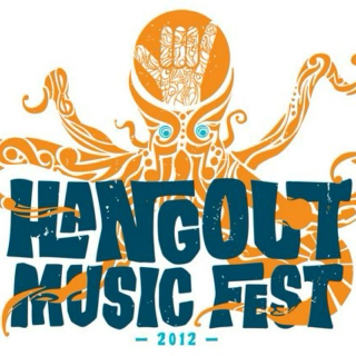 Setting up for Hangout Music Fest 2012.