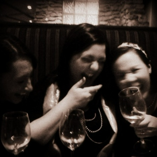 doctor's orders: laugh 3x a day, take with good wine & friends