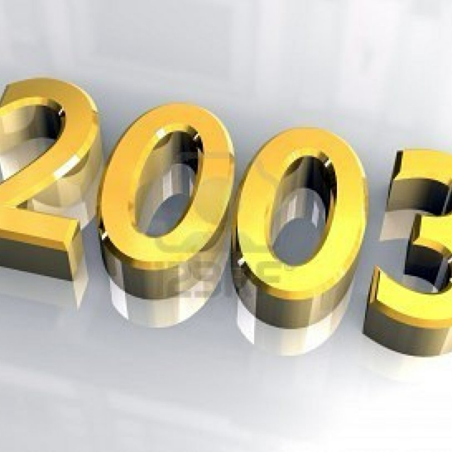 2003 - The songs that impressed me that year