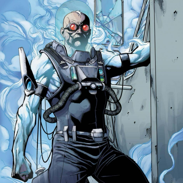 Chill as Mr. Freeze