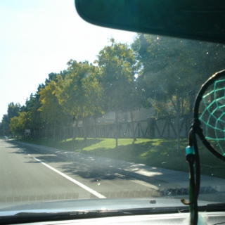 Roll down the windows and enjoy some sunshine.