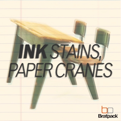Ink Stains, Paper Cranes