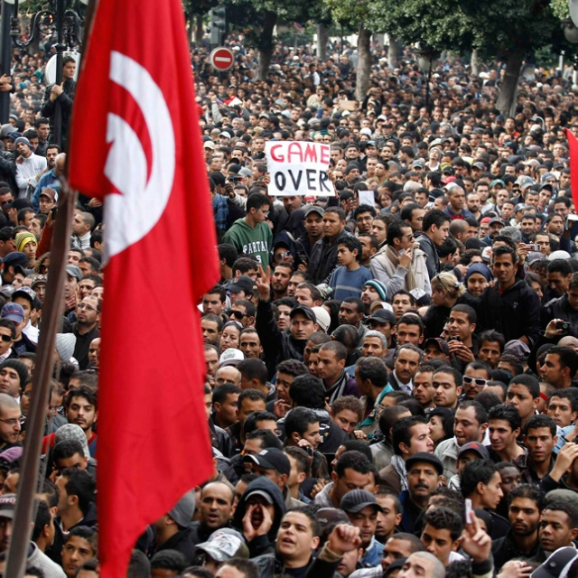 The revolution will be streamed - Tribute to the Arab Revolution