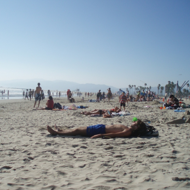 A Reluctant & Confused Hipster's Day At the Beach