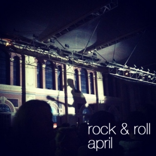 rock & roll april