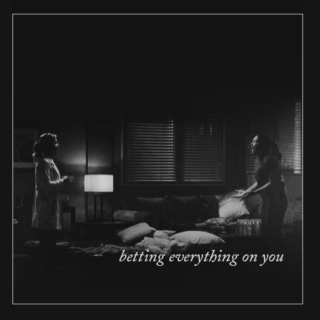 betting everything on you - callie/arizona