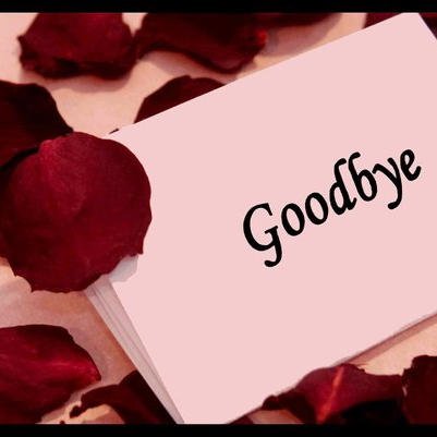 If We Must Say Goodbye