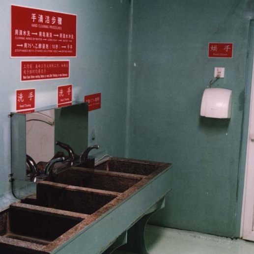 The Hand Cleaning Room