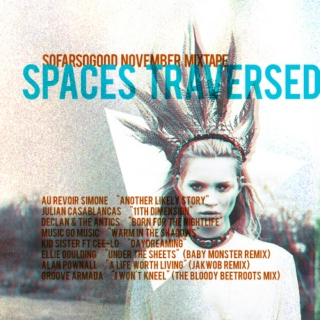 Spaces Traversed