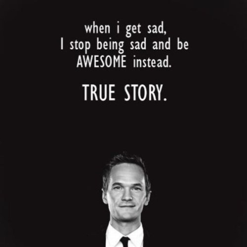 Awesome doesnt even begin to describe Barney Stinson