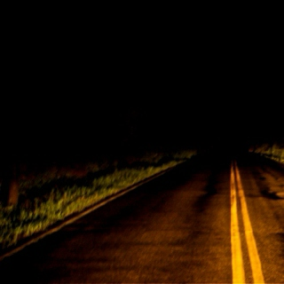 solitary night driving