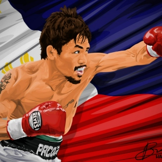 Dont mess w/ me or  I'll Manny Pacquiao you, b*tch!