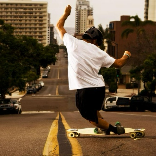 Longboarding to the Beat
