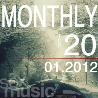 monthly top 20 // 01.12
