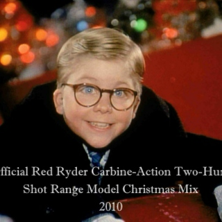 The Official Red Ryder Carbine-Action Two-Hundred-Shot Range Model Christmas Mix
