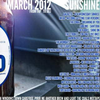 March Mixtape 2012