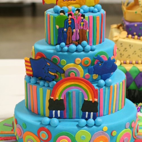 All The World Is Birthday Cake. So Grab A Piece But Not Too Much!