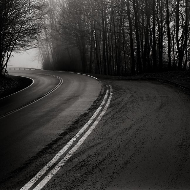 the haunting road