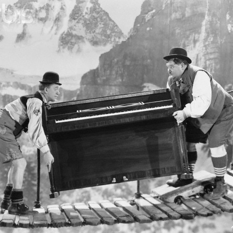 Today is a good day for a piano.
